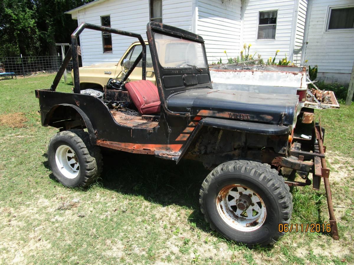 1948 willys flat fender jeep for sale in falkville al - Craigslist huntsville farm and garden ...
