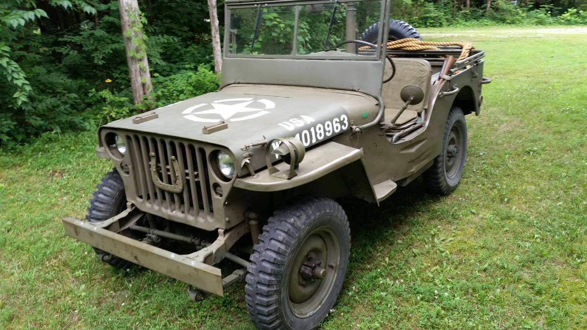1943 willys mb jeep for sale in st louis mo 13 000. Black Bedroom Furniture Sets. Home Design Ideas