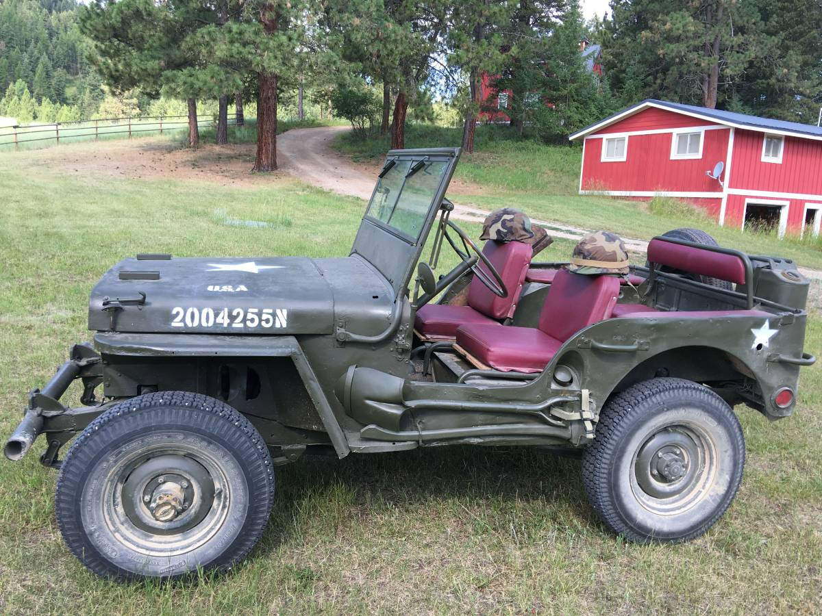 Craigslist Missoula Mt >> 1944 Willys MB Military Jeep For Sale in Missoula, MT - $8,000