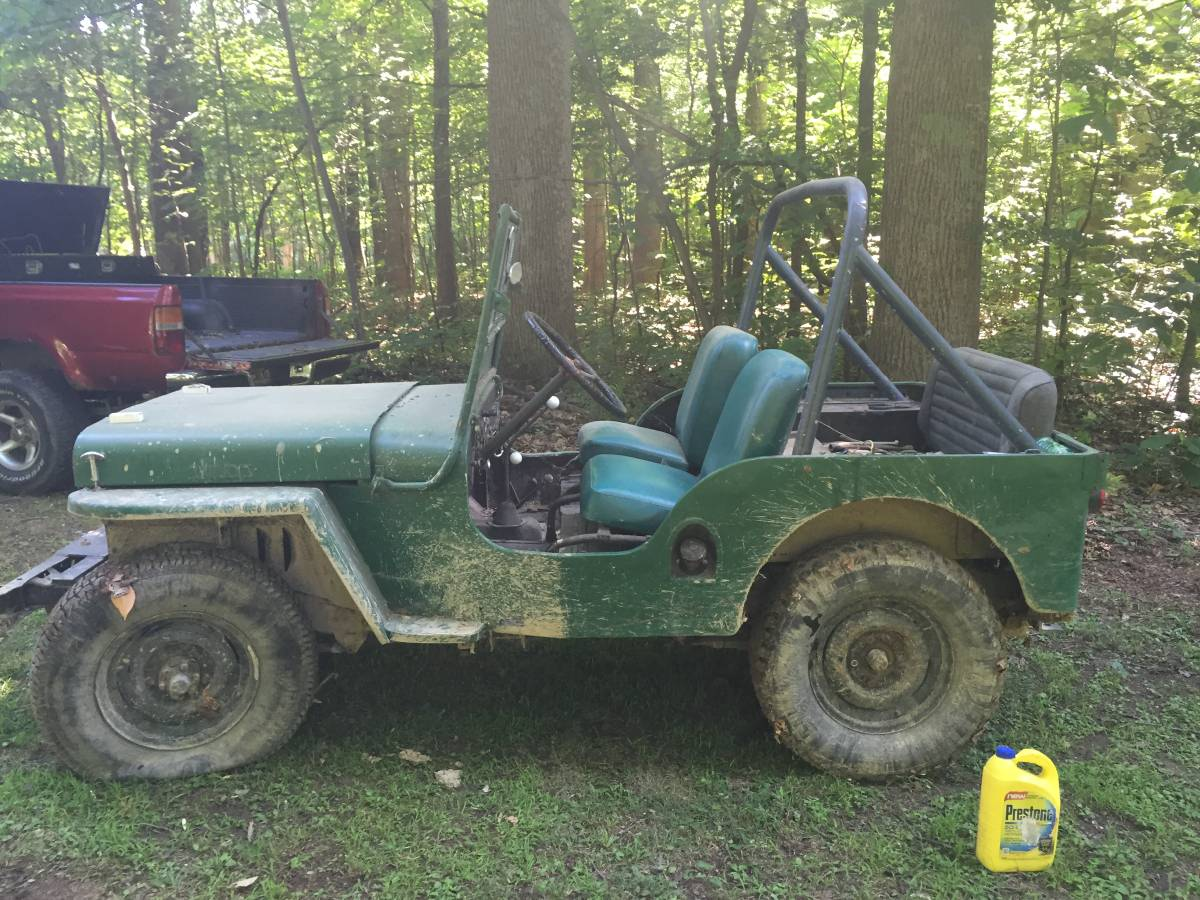 1945 Willys Green Jeep For Sale In Indianapolis In 2 500