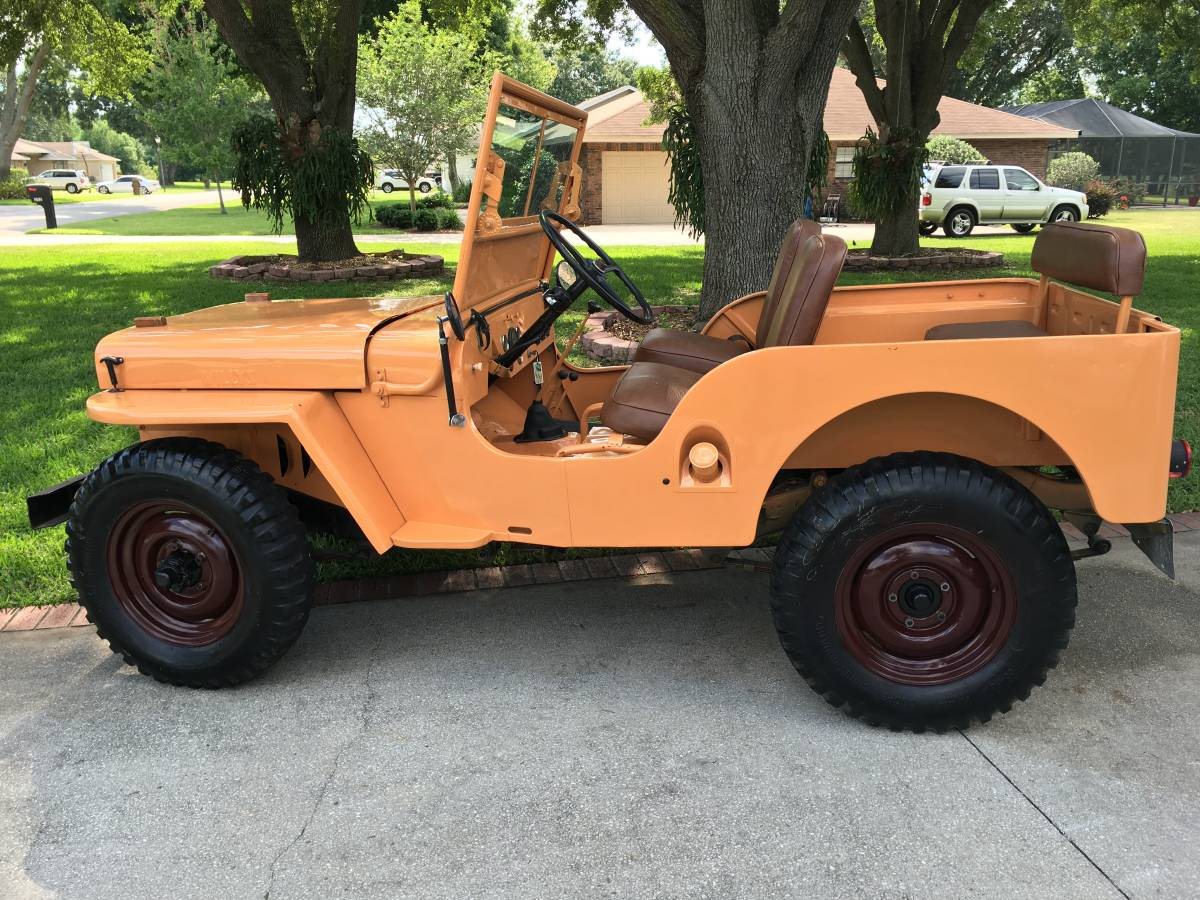 1945 willys cj2a jeep for sale in miami fl 13 000. Black Bedroom Furniture Sets. Home Design Ideas