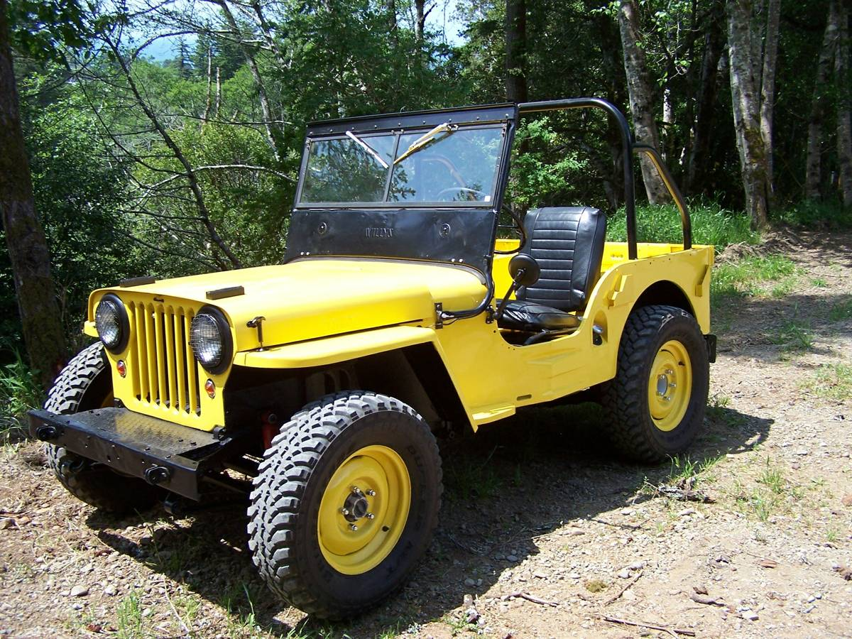 1945 willys cj2a jeep for sale in southern oregon 12 500. Black Bedroom Furniture Sets. Home Design Ideas