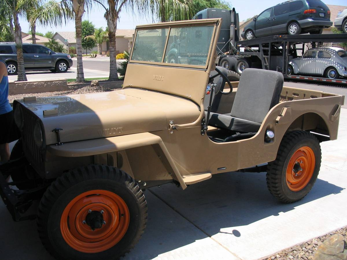 1946 Willys Restoration Jeep For Sale in Gilbert, AZ