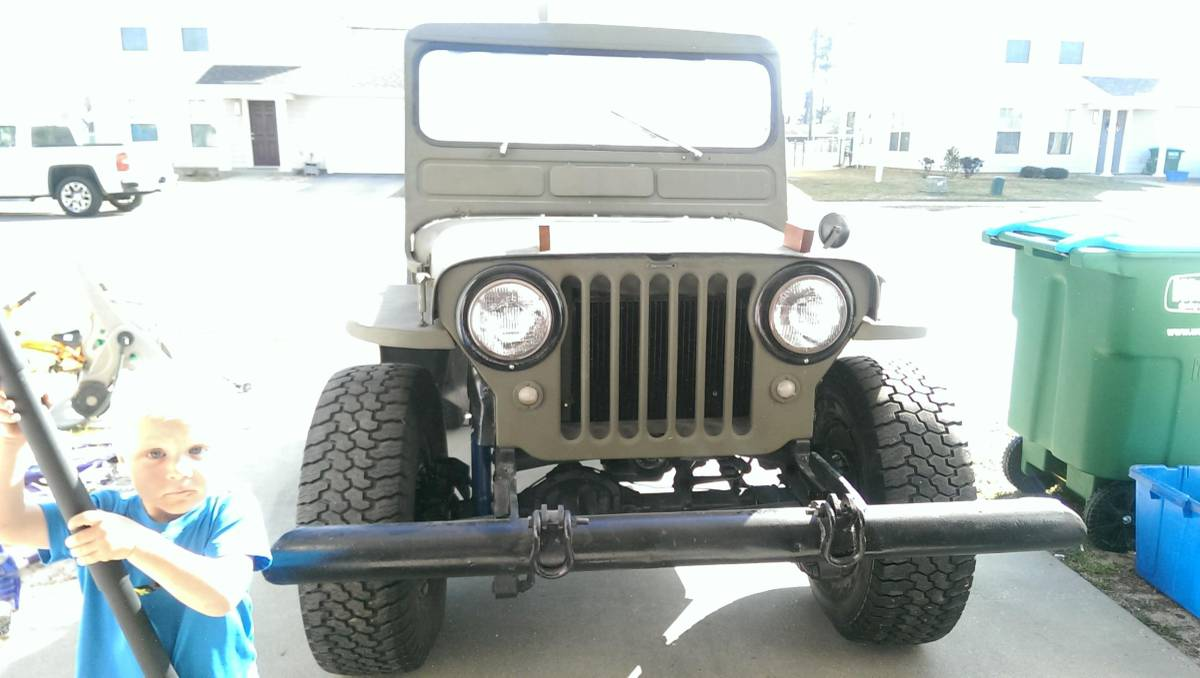 1946 Willys CJ2A Jeep For Sale in Gulfport, MS - $4,500