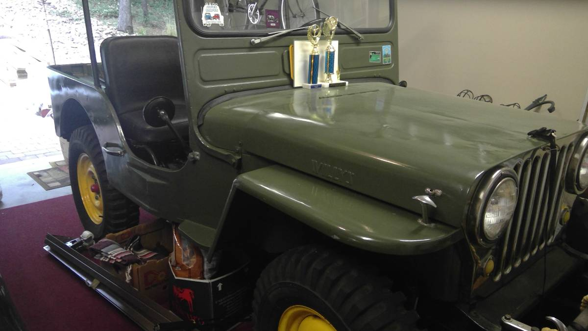 1946 Willys Green Jeep For Sale in Massanutten, VA - $10,000