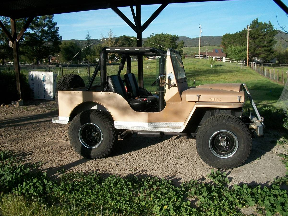 1947 Willys CJ2A Jeep For Sale in Atascadero, CA - $7,500