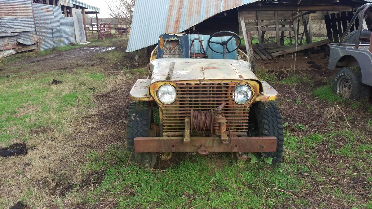 1947 Willys CJ2A Jeep For Sale in Georgetown, TX - $850