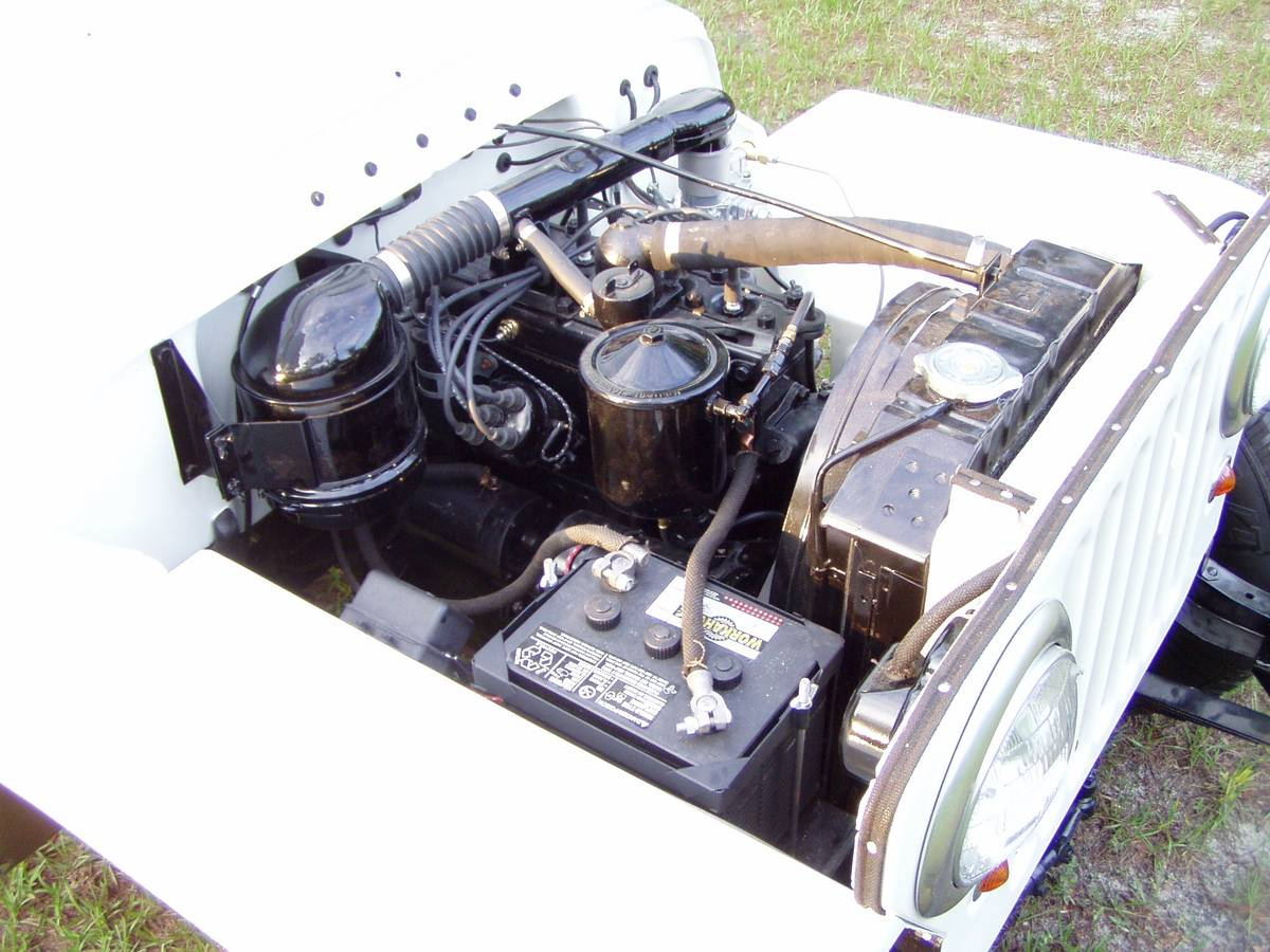Buy used 1949 WILLYS JEEP CJ2A WITH EXTRA PARTS in Roaring ... |Jeep Cj2a Engines