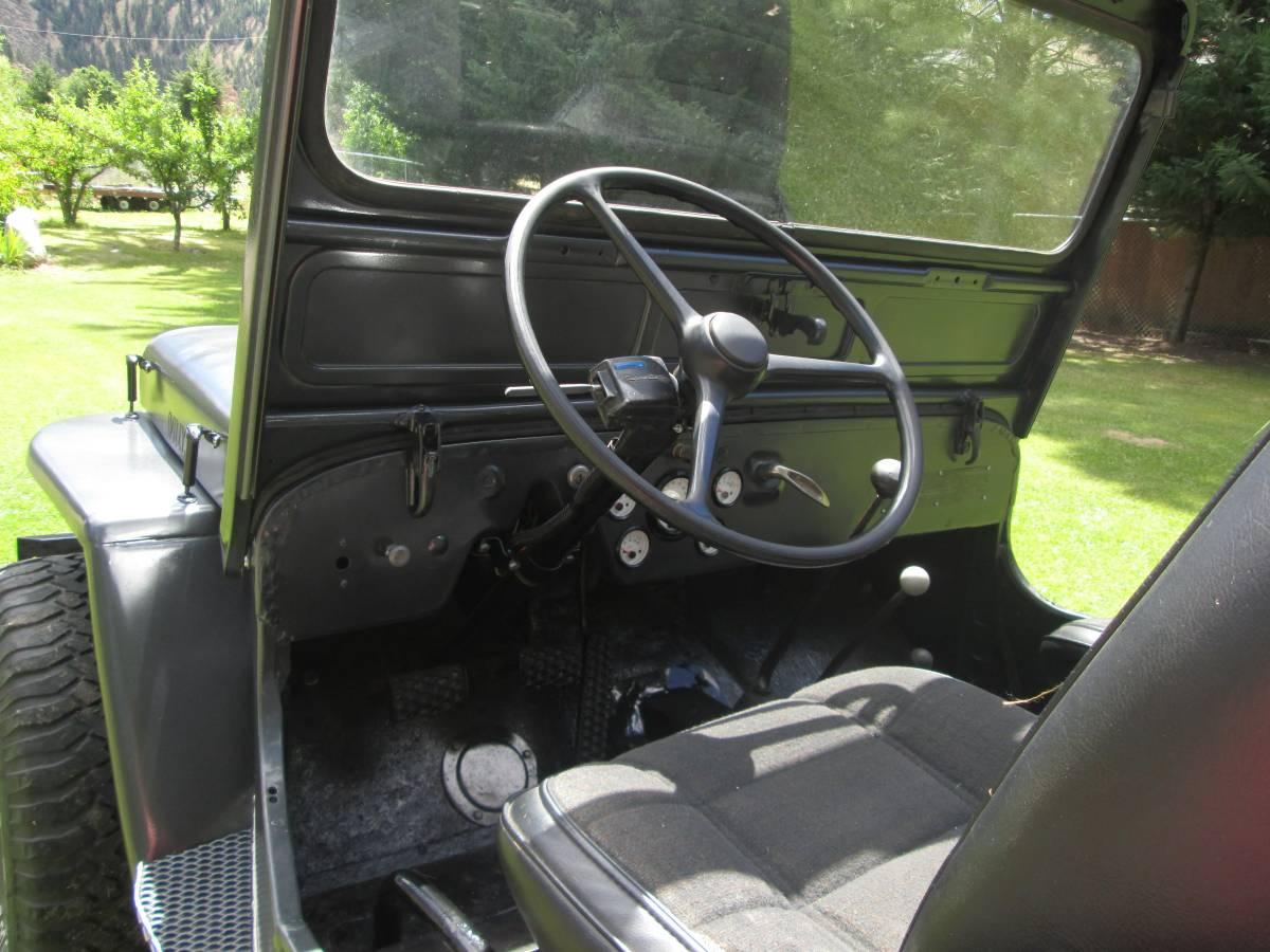 1947 Willys CJ2A Grey Jeep For Sale in Wenatchee, WA - $8,500