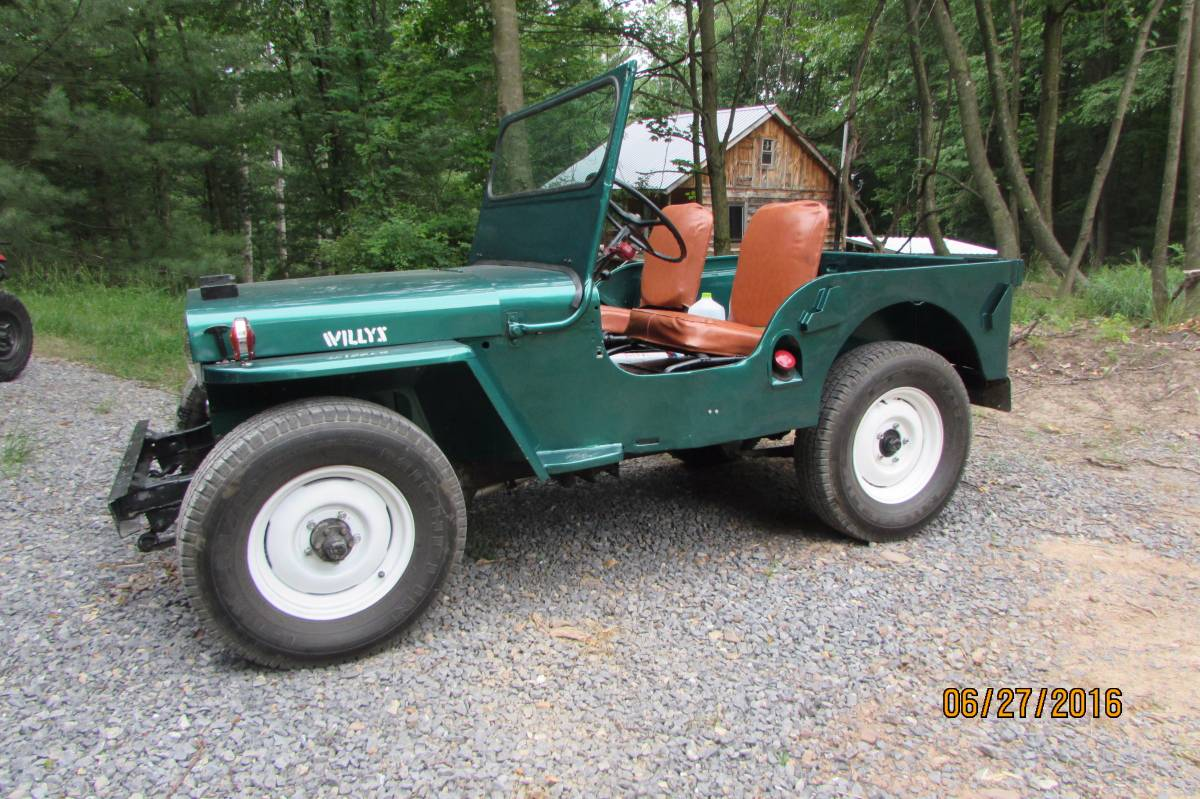 1947 Willys CJ2A Jeep For Sale in Williamsport, PA - $7,000