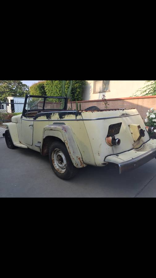 1948 Willys Convertible Jeep For Sale in Los Angeles, CA ...