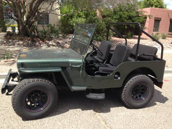 1948 Willys Green Jeep For Sale in Tucson, AZ - $7,250