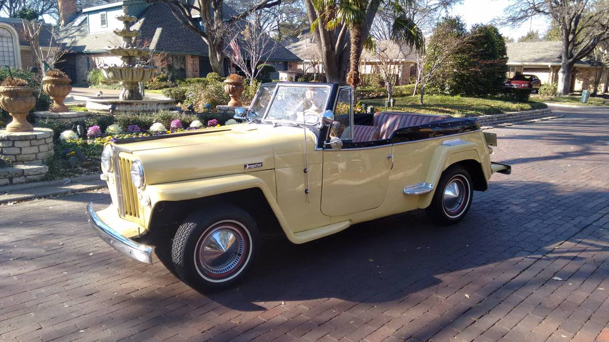 1949 Willys Jeepster Convertible For Sale in North Dallas ...