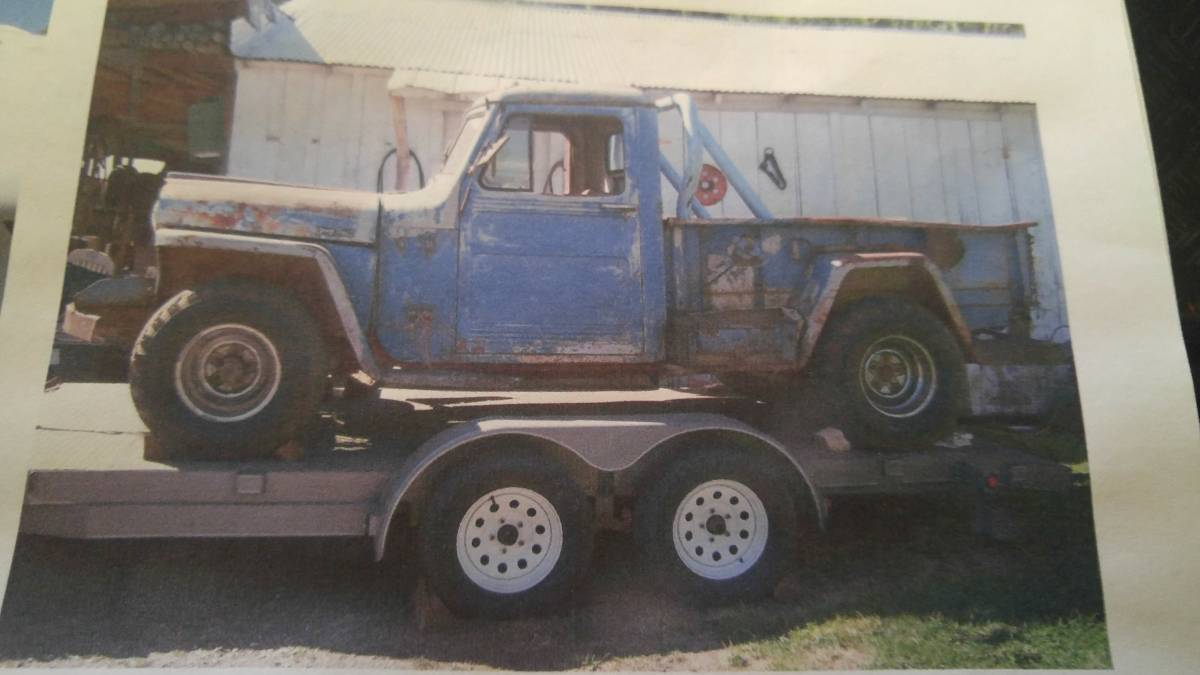 1949 Willys Two Door Pickup Truck For Sale in Quincy, MA ...