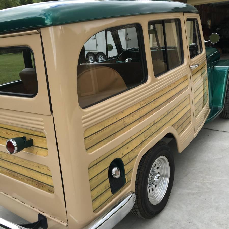 1950 Willys Two Door Wagon For Sale In Hiawassee, GA