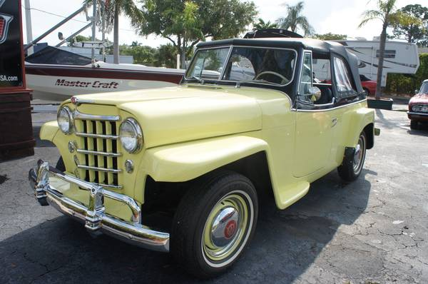 1950 Willys Overland Jeepster For Sale in Lantana, FL ...