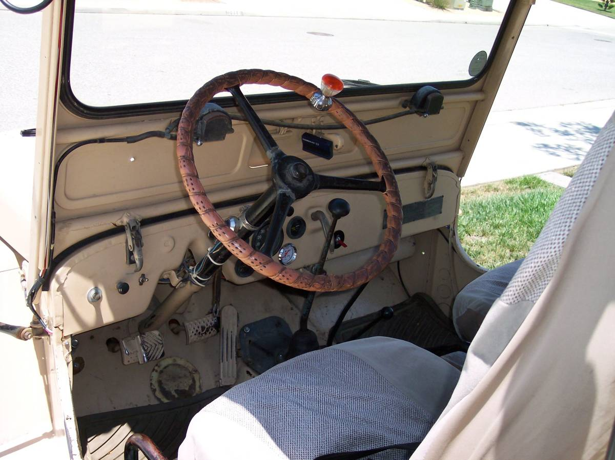 1950 Willys Brown Jeep For Sale in Moreno Valley, CA - $6,500