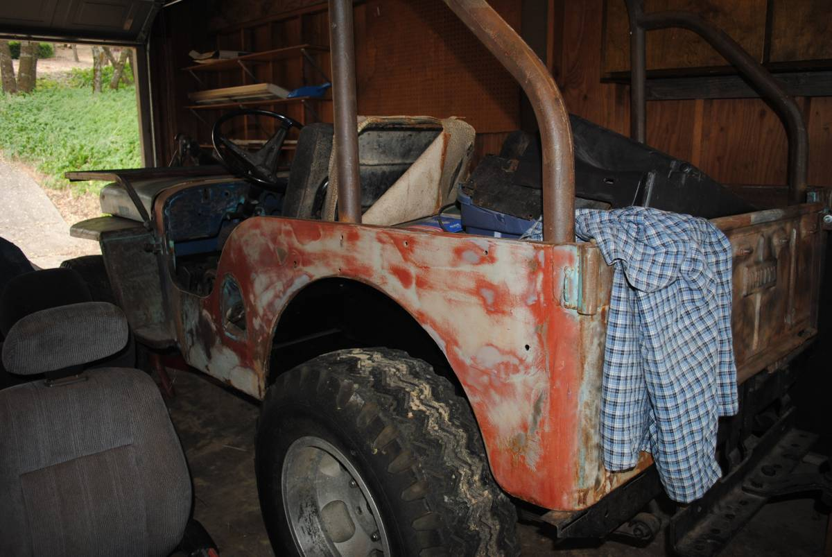 1947 Cj2a Floor Pans 1968 Vw Beetle Chassis Arrived 1947