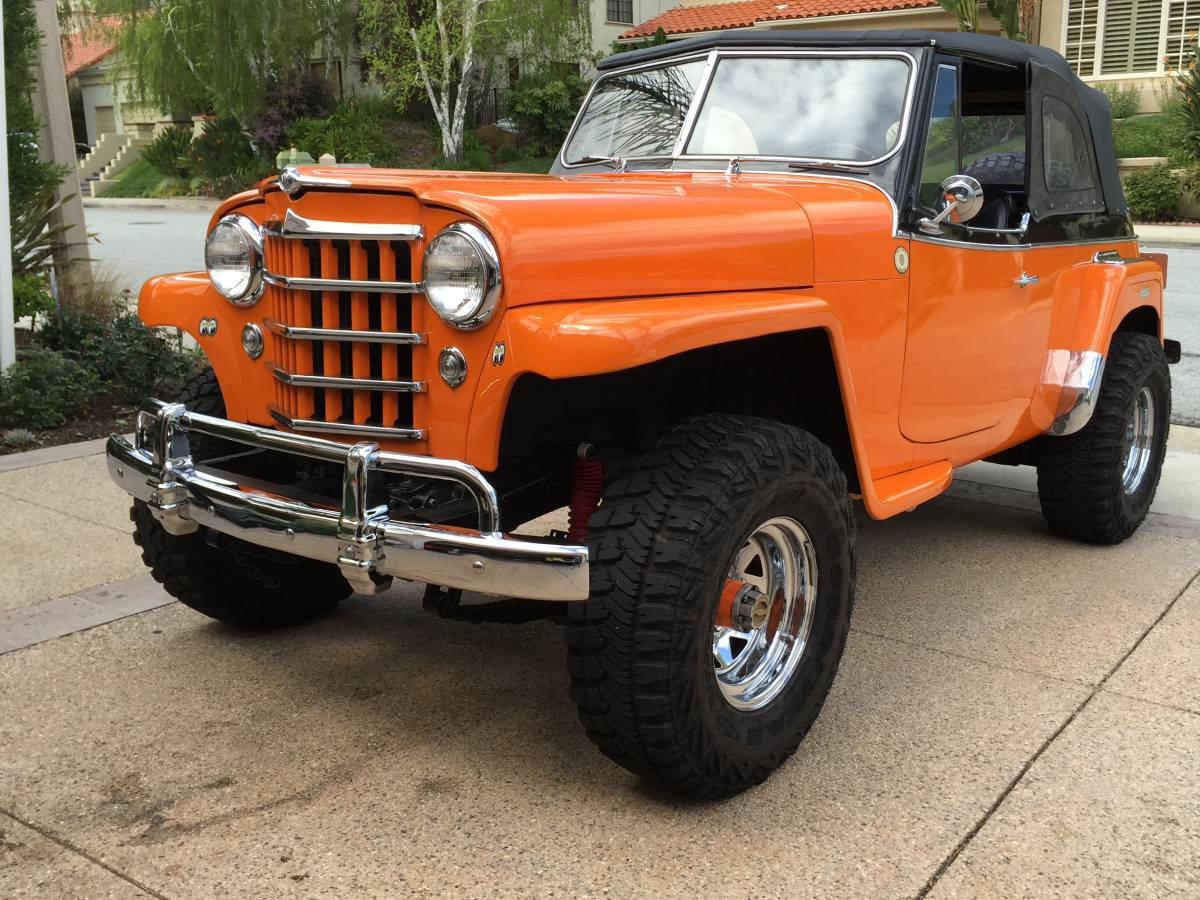 Jeep Fort Worth >> 1950 Willys-Overland Jeepster 4X4 For Sale Westlake ...