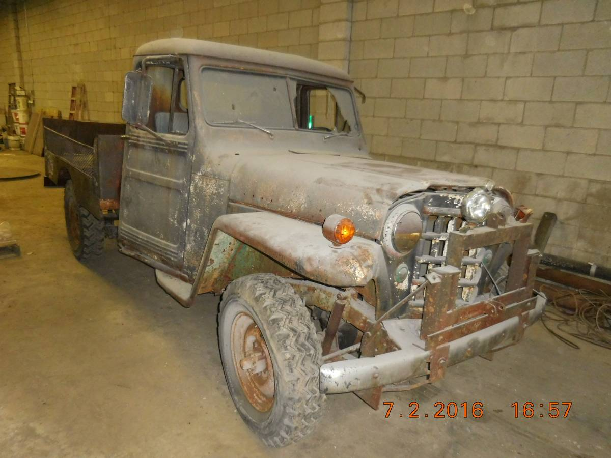 1951 willys two door truck for sale in columbus oh. Black Bedroom Furniture Sets. Home Design Ideas