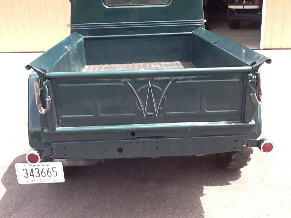 1953 Willys Two Door Pickup For Sale In Bemidji, MN