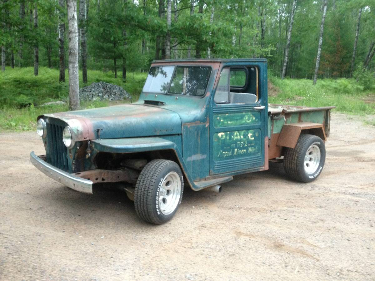 1953 Willys Two Door Pickup For Sale in Kingsford, MI - $3,500
