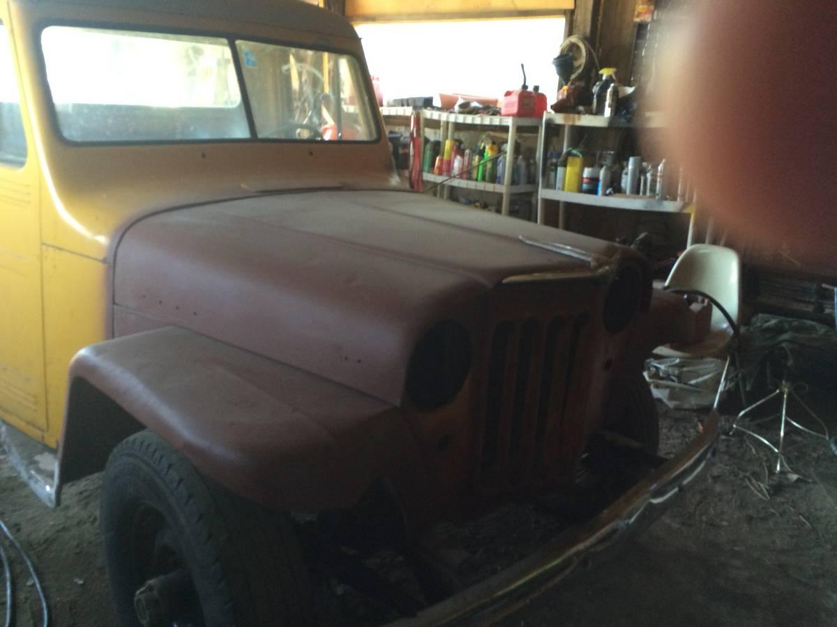 1953 Willys Two Door Pickup Truck For Sale In Norris Mt