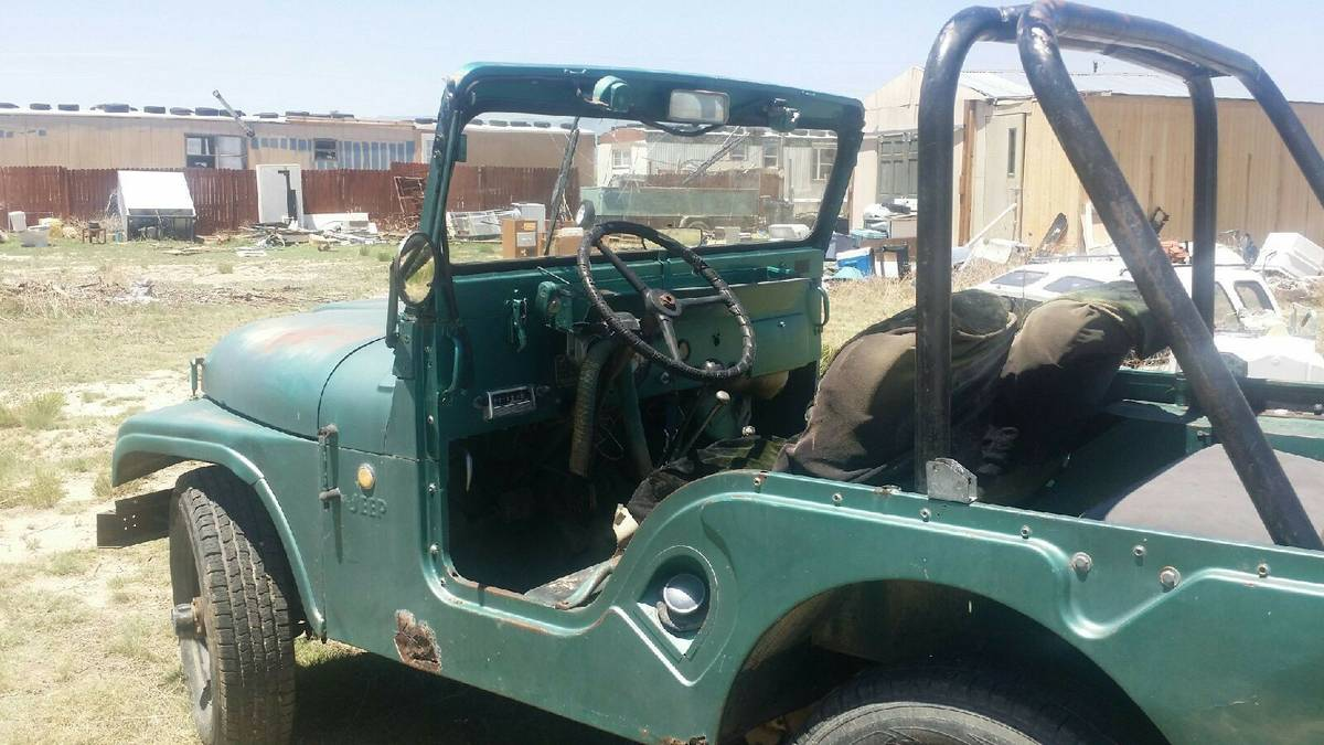 1955 Willys CJ5 Jeep For Sale in Fountain, CO - $3,850