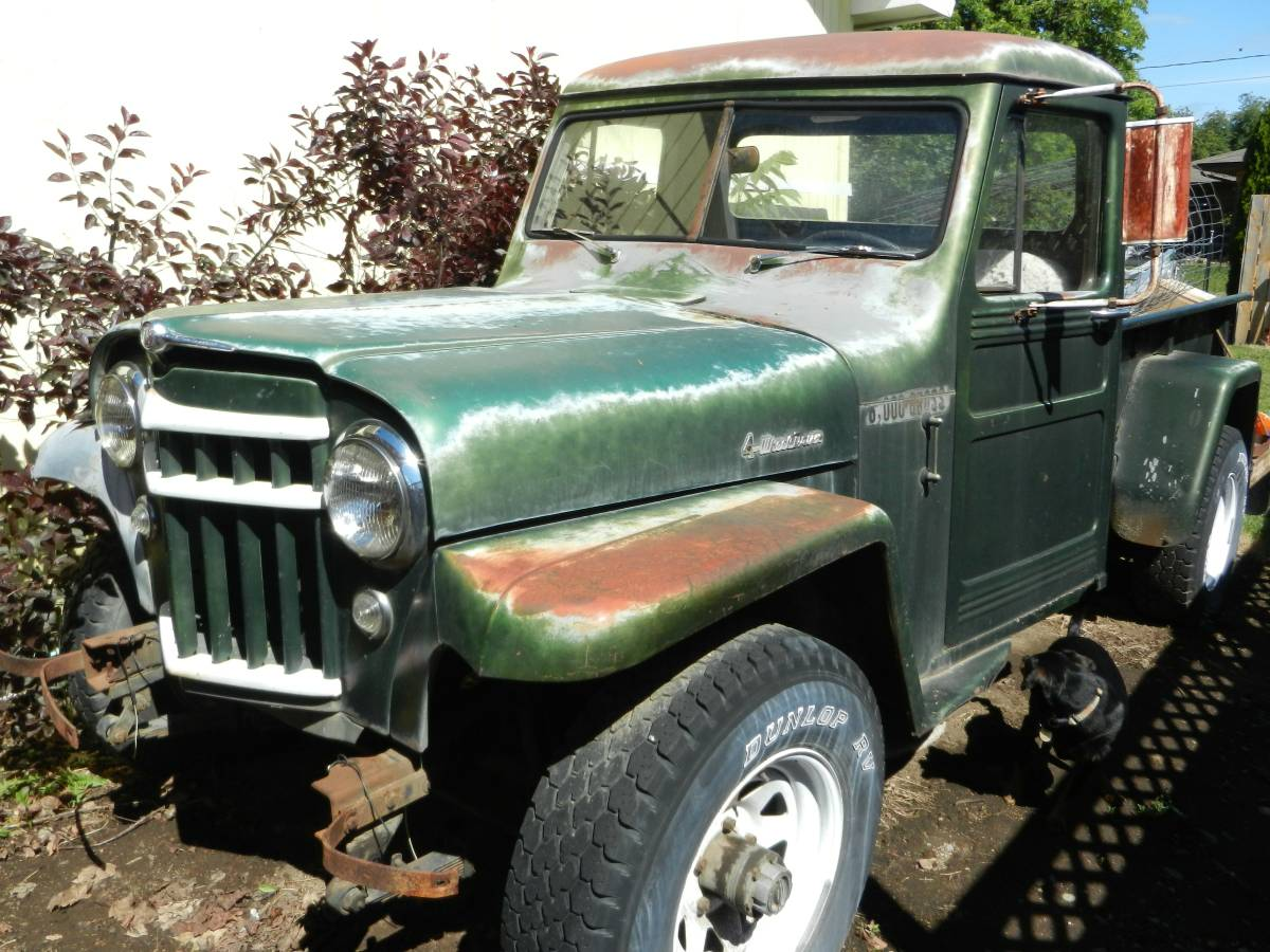 1955 Willys Green Pickup For Sale in Spokane Valley, WA ...