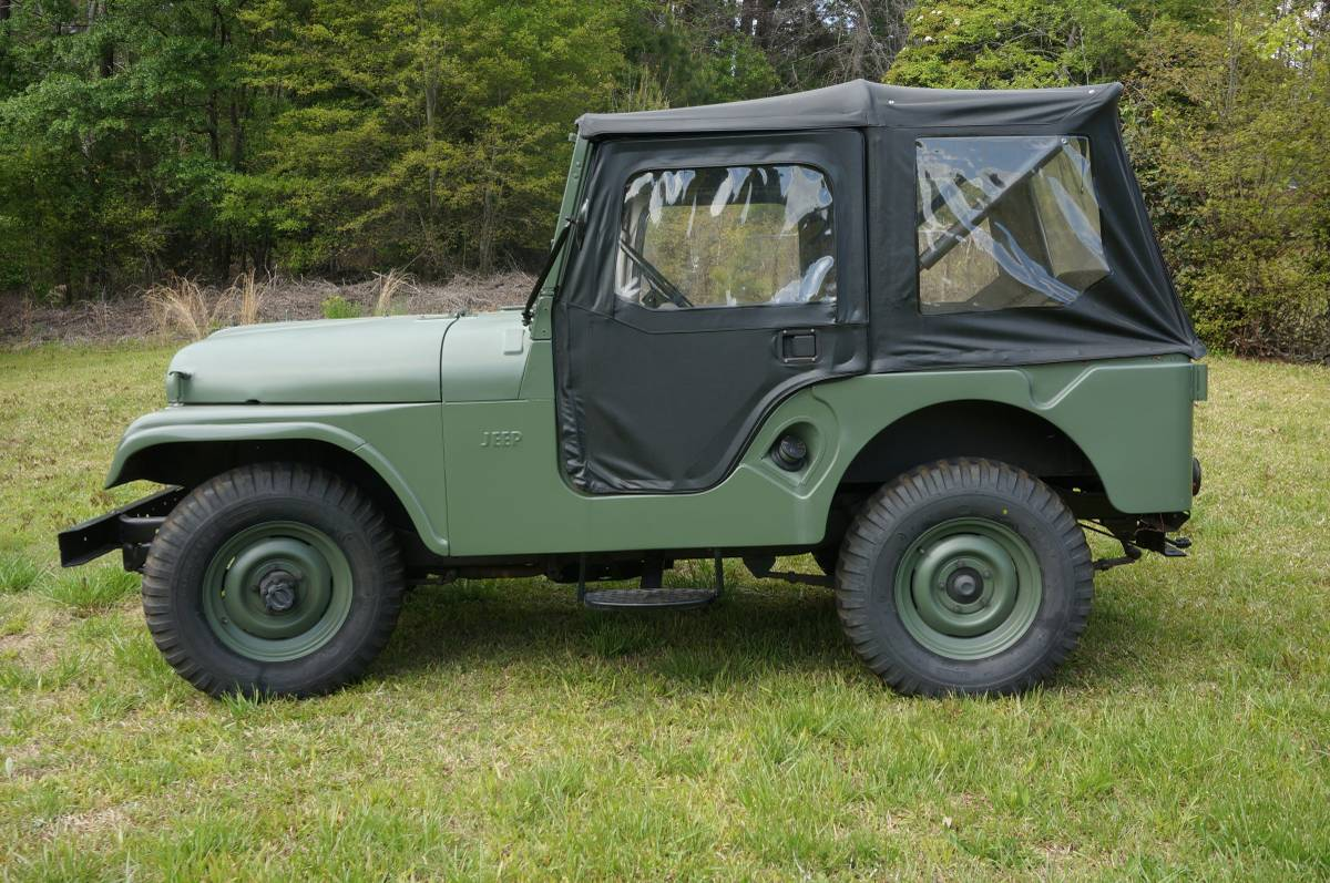 1956 Willys Two Door Jeep For Sale in Athens, GA - $9,350