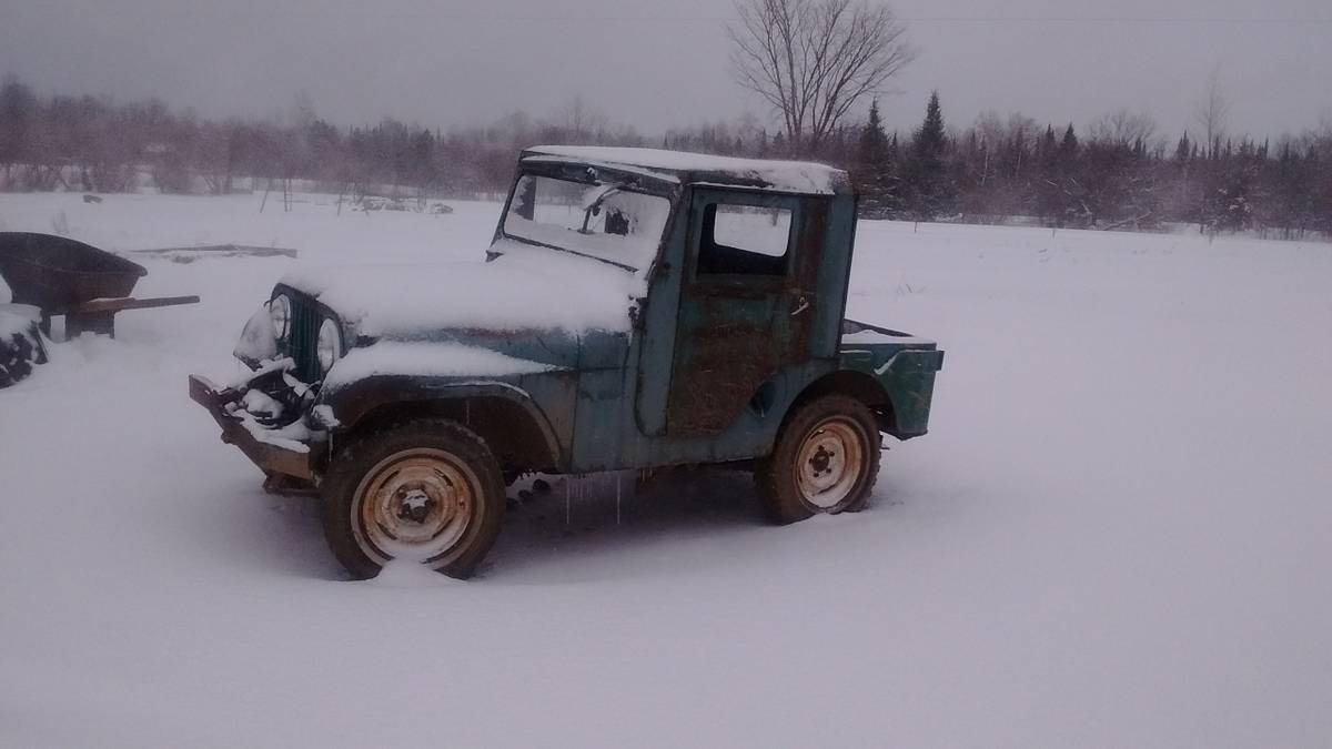 1958 willys cj5 project for sale in gleason wi 5 000. Black Bedroom Furniture Sets. Home Design Ideas