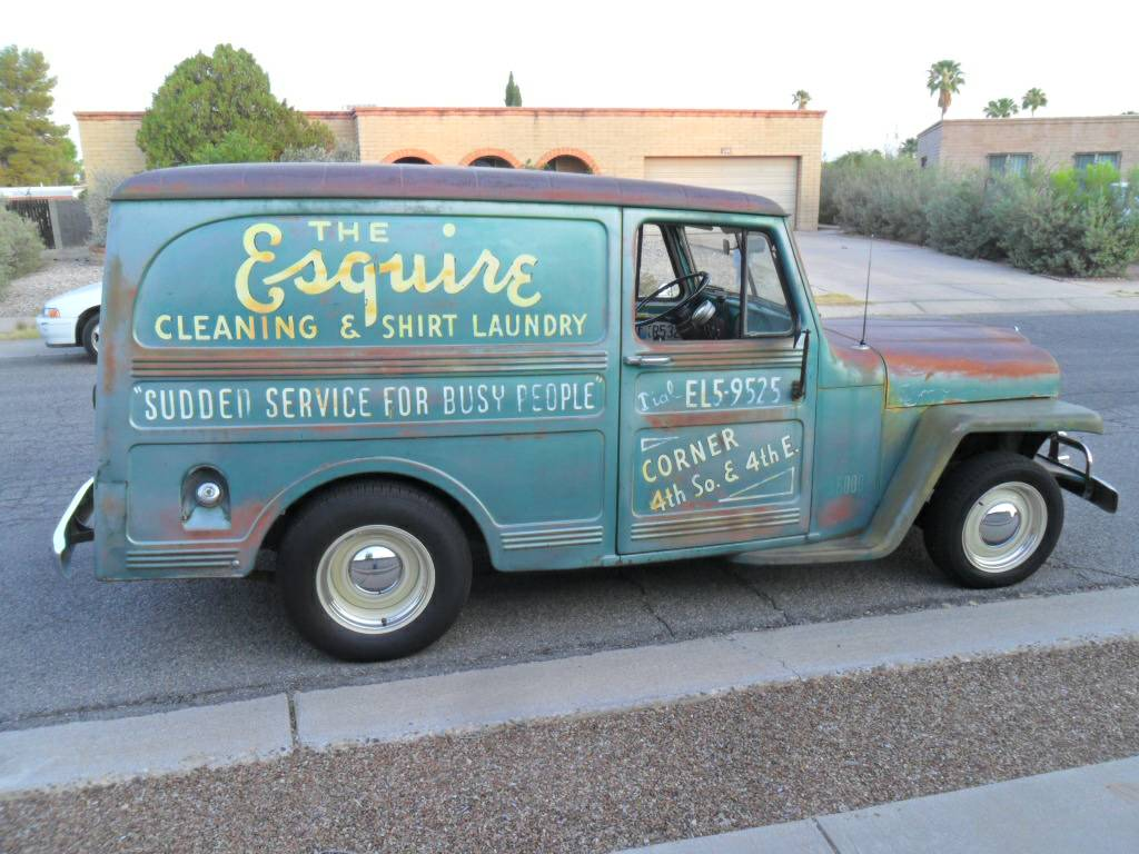 1959 Willys Panel Station Wagon For Sale In Tucson Az