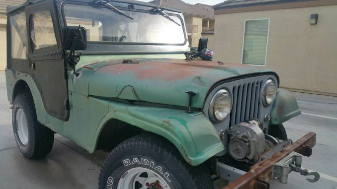 1960 Willys CJ5 Two door Jeep For Sale in Fresno, CA - $2,250