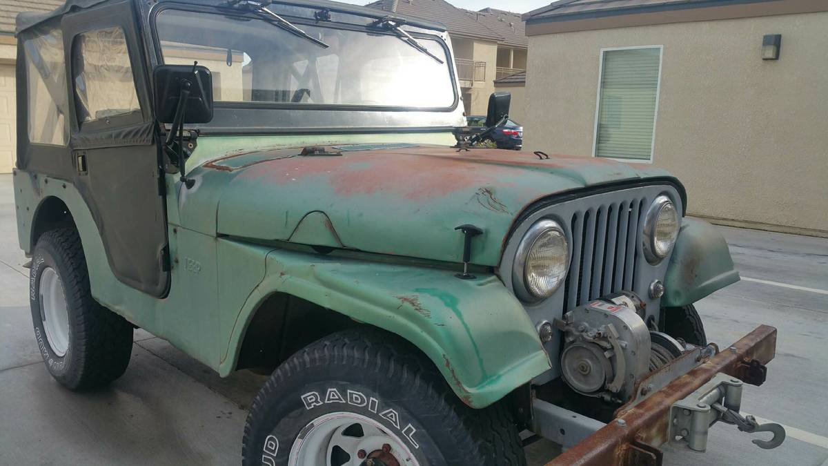 Willys Jeep Truck For Sale >> 1960 Willys CJ5 Two door Jeep For Sale in Fresno, CA - $2,250