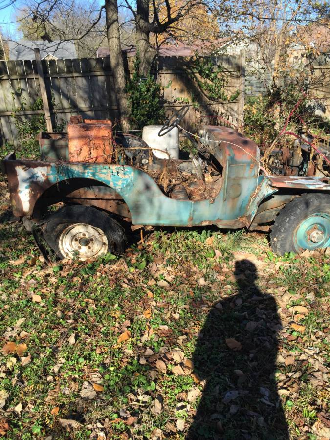 Jeeps For Sale In Ga >> 1960 Willys CJ3B Project Jeep For Sale in Springfield, MO ...