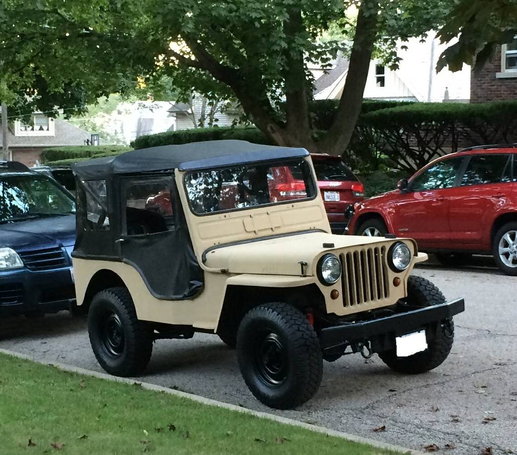 1962 Willys Cj3A Jeep For Sale In Chicago, IL