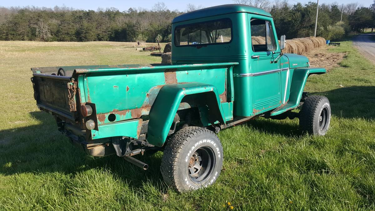 1962 Willys Two Door Pickup For Sale In Front Royal, VA