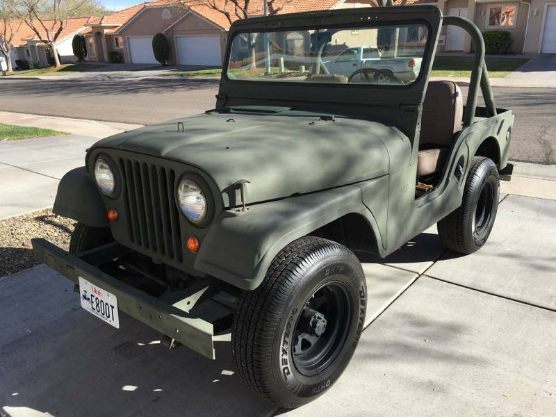 1962 Willys CJ5 Jeep For Sale in St. George, UT - $6,900