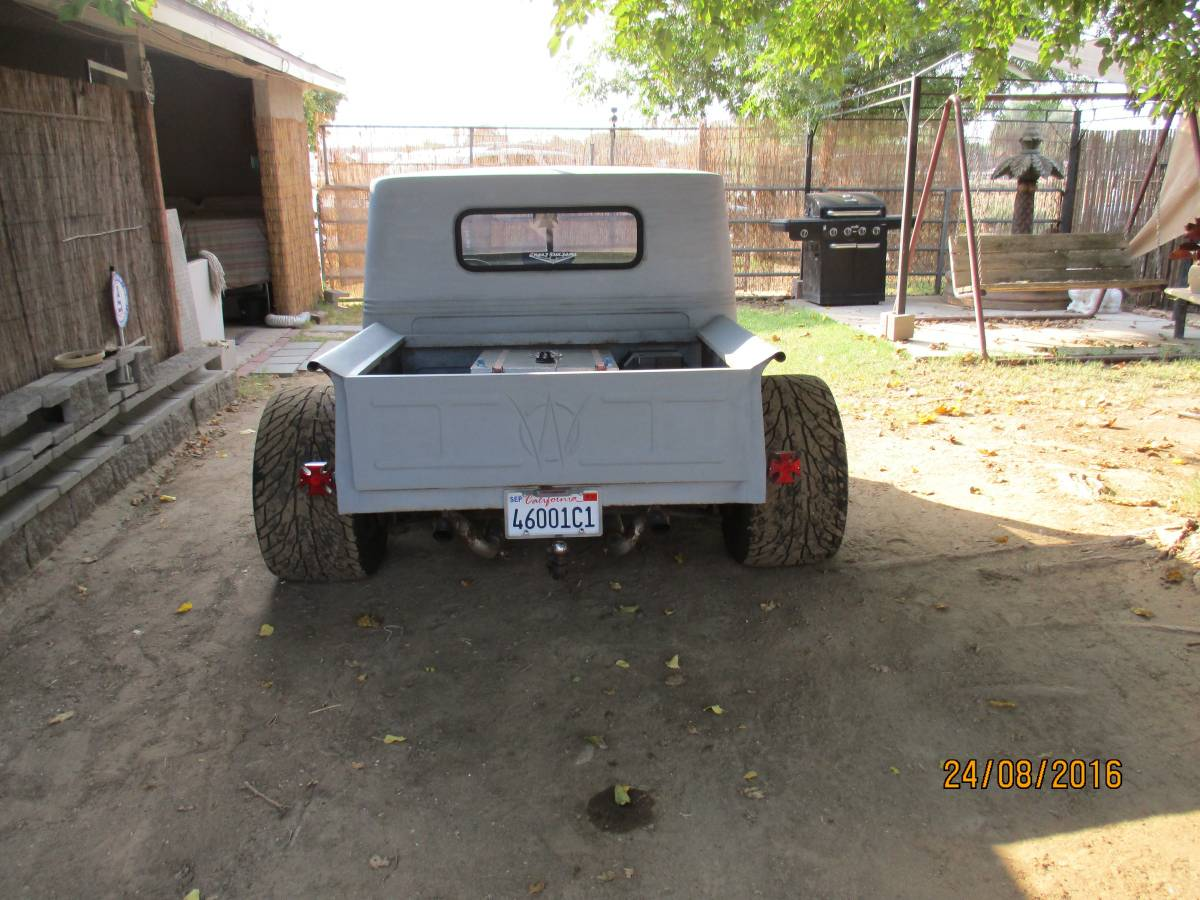 1950 Willys Two Door Pickup Grey For Sale in Shafter, CA ...