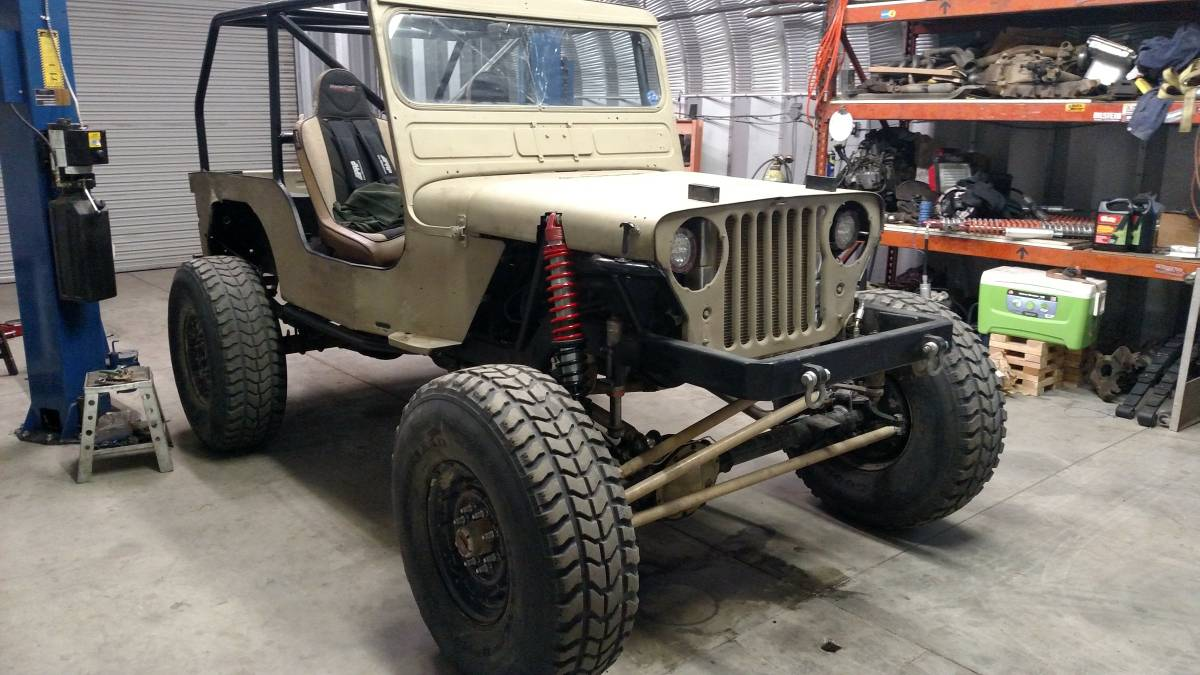 Model A Pickup For Sale Craigslist >> 1947 Willys CJ2A Custom For Sale in Beaumont, CA - $7,800