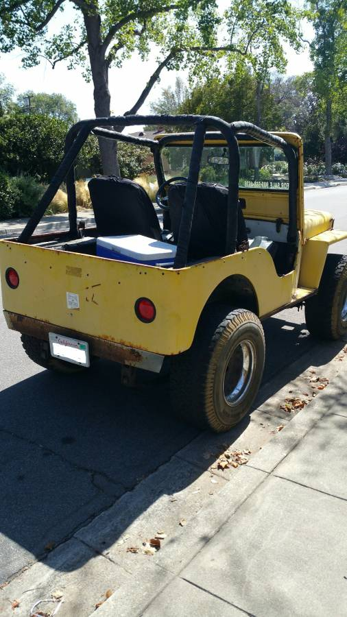 Van Nuys Jeep >> 1949 Willys CJ2A 4x4 Yellow For Sale in Los Angeles, CA ...