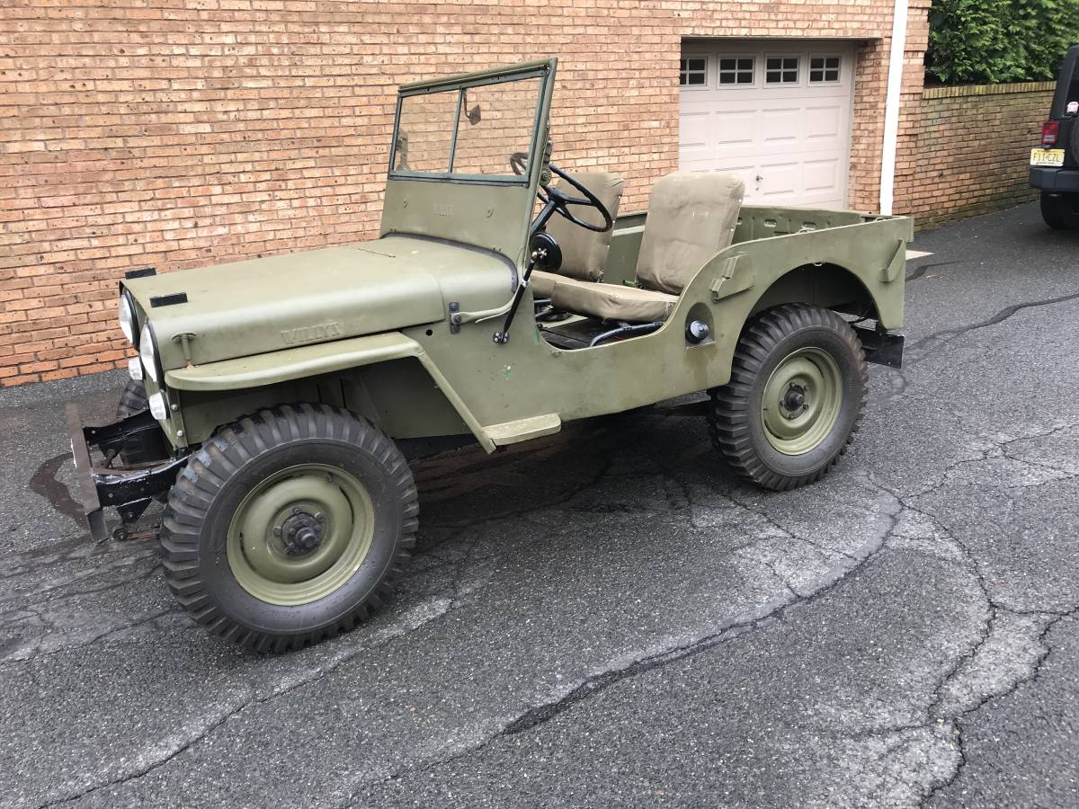 1947 Willys CJ2A For Sale in Oradell, NJ - $8,000