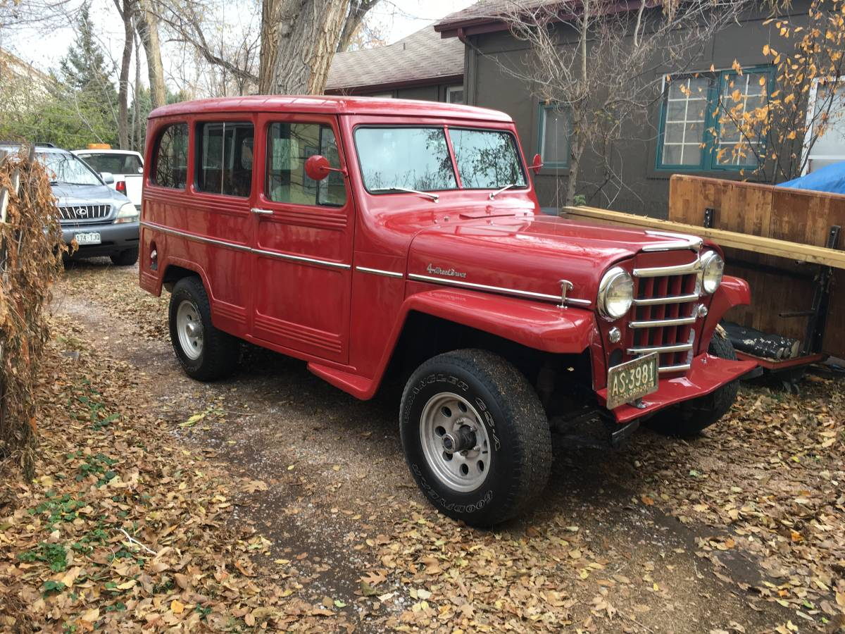 1959 Willys Station Wagon 4.3L V-6 For Sale in Lakewood ...