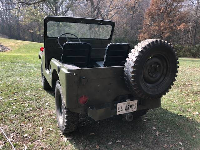 Craigslist Mohave County Az >> 1954 Willys M38A1 4cyl Manual For Sale in Pleasant Plains ...
