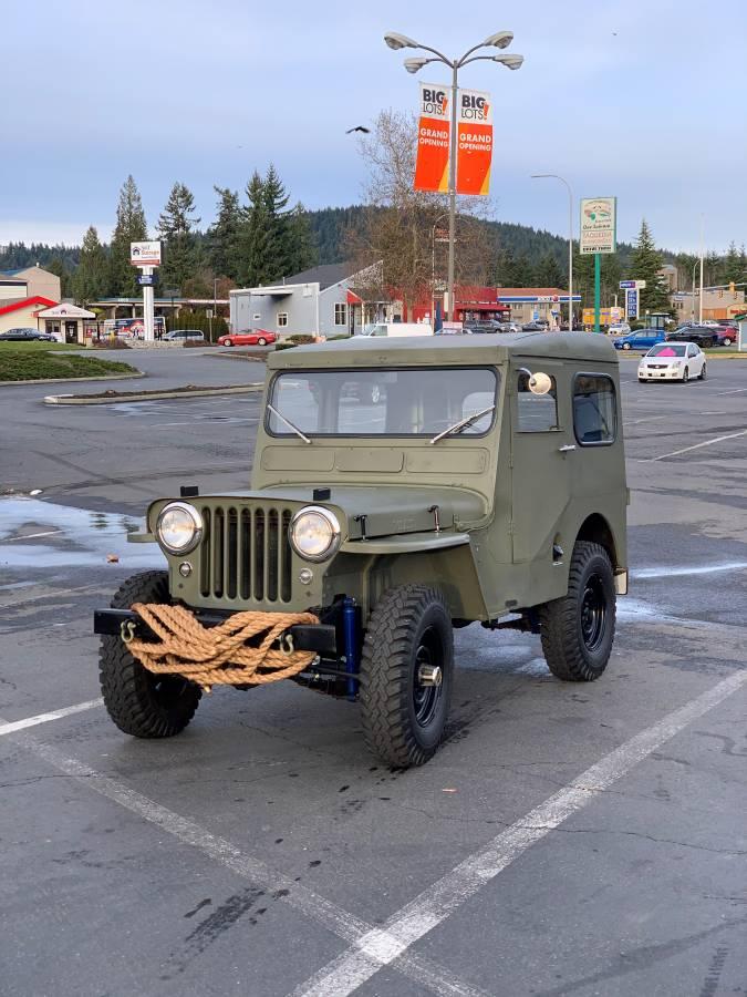 1951 Willys Jeep CJ3A 4cyl Manual For Sale in Renton, WA ...