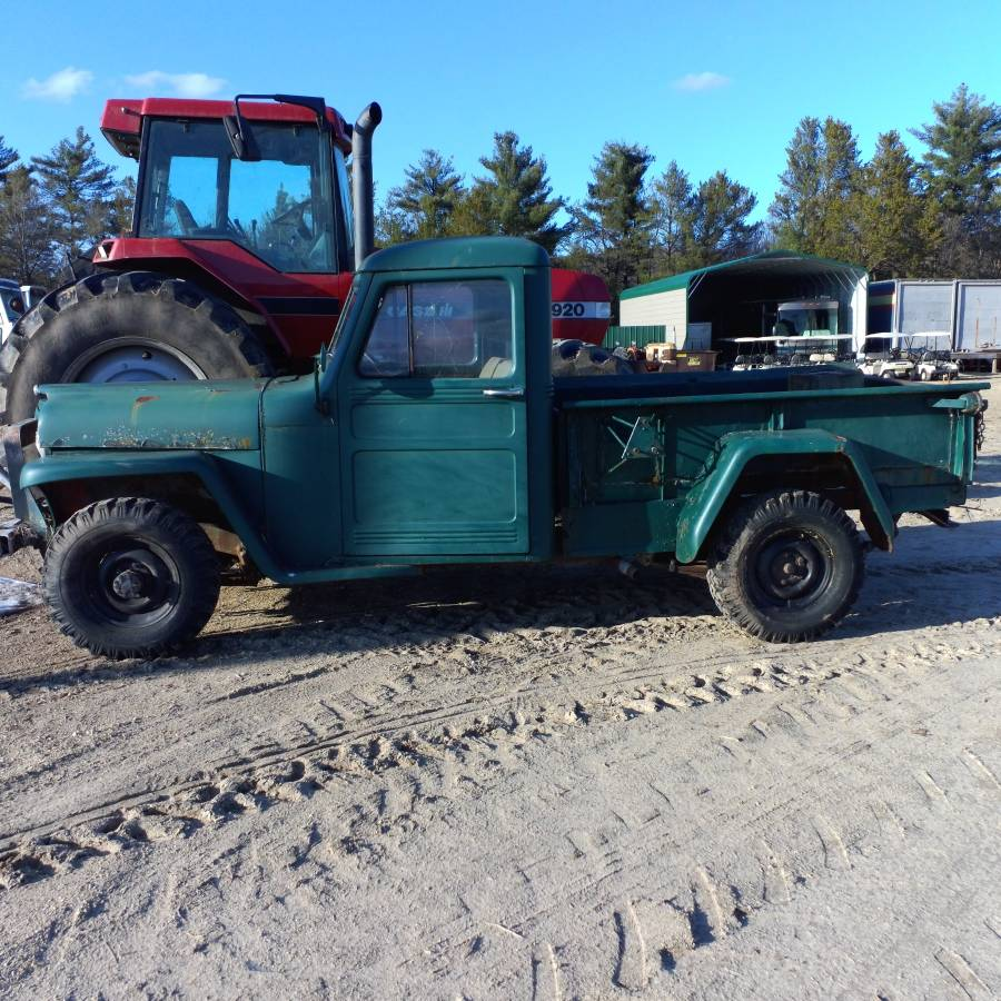 1953 Willys Pickup Truck Project For Sale in Black River ...