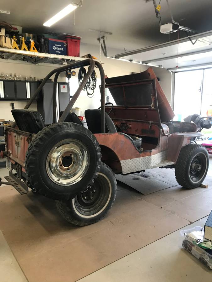 1947 Willys Jeep CJ2A For Sale in Missoula, MT - $5,500