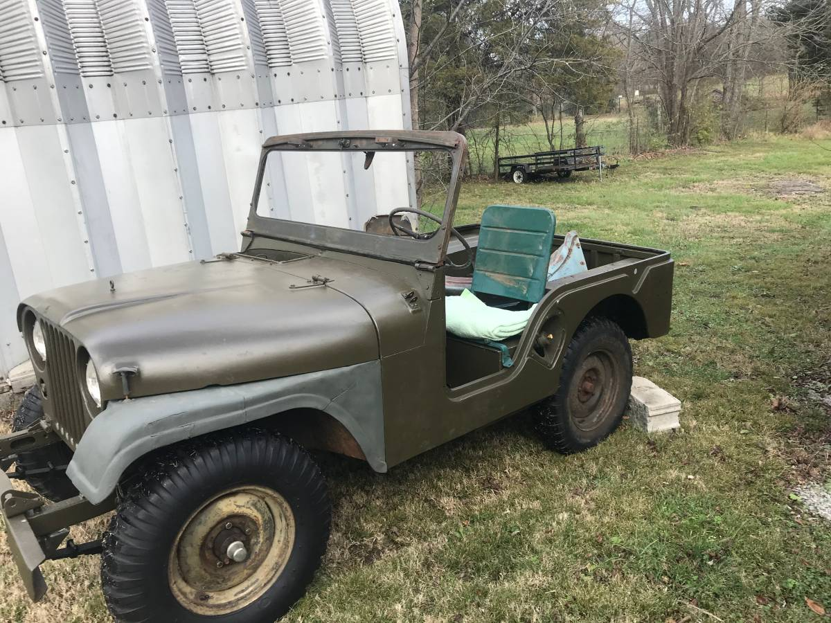 1953 Willys Jeep M38A1 Truck For Sale in Lebanon, TN - $7,950