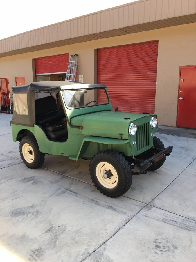 1962 Willys Jeep CJ3B For Sale in Sarasota, FL - $14,900