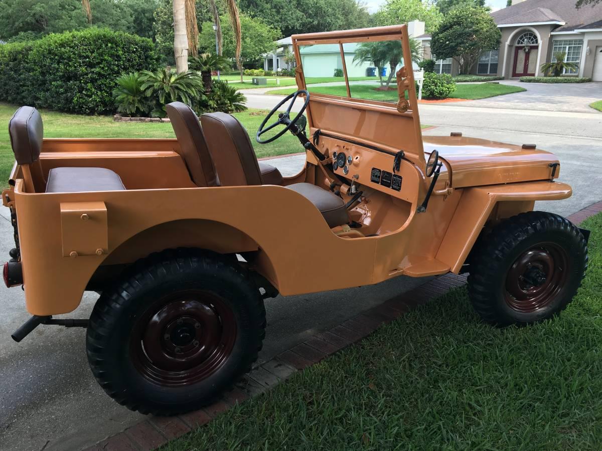 1945 Willys CJ2A Jeep For Sale in Miami, FL - $13,000